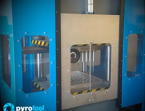 Pyrolab presenta el modelo de prensa hidráulica HPS