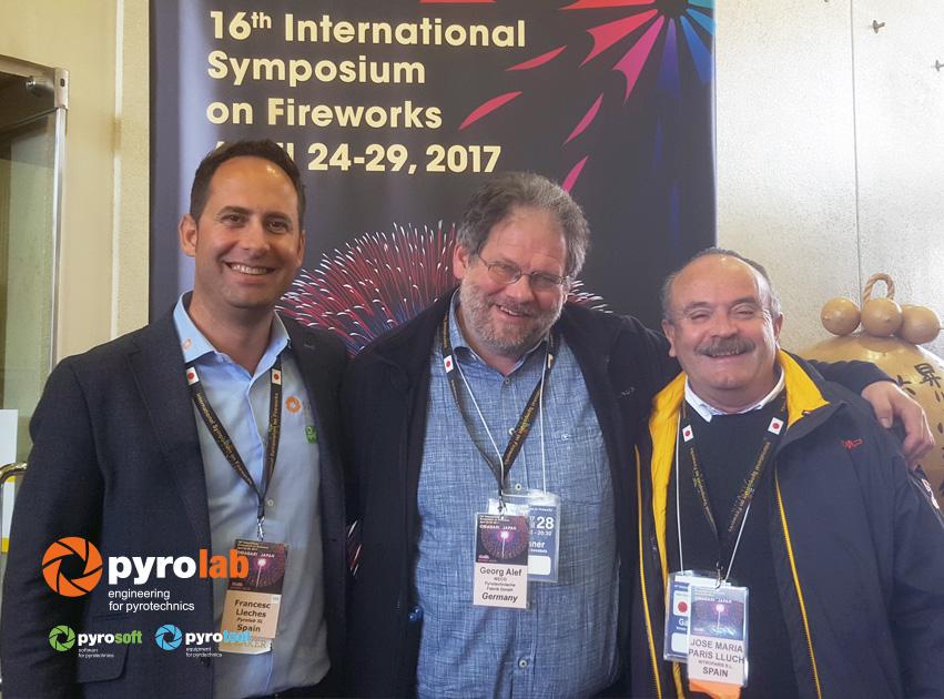 Con Georg Alef de Weco Alemania y Jose Maria Paris de Nitroparis SL