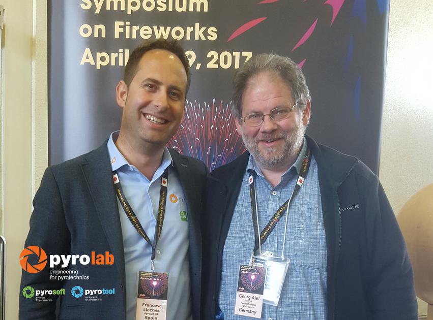 Con Georg Alef de Weco Alemania