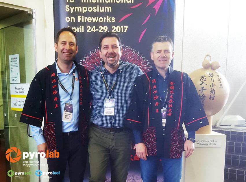 Con Peter Shishkov de Enigma y Fireworks Bulgaria