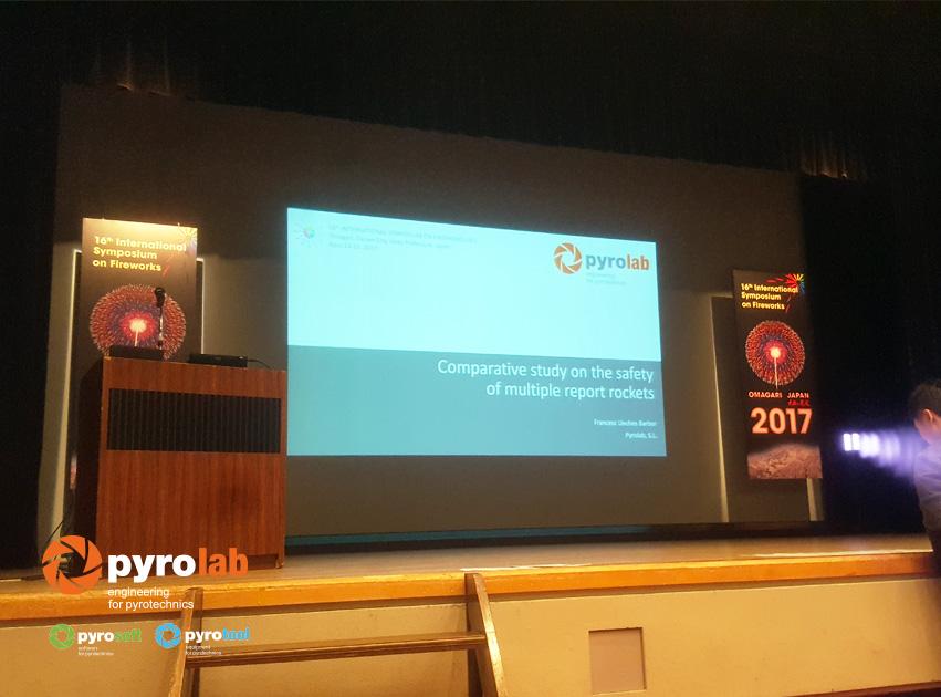 Presentación de Pyrolab simposio Omagari, Japón 2017