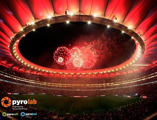 Plan de Seguridad y Emergencia espectáculo pirotécnico en estadio Wanda Metropolitano  septiembre 2017