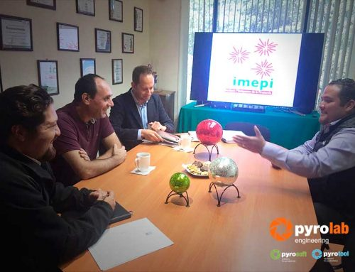 Meeting with the Institute Mexiquense of Pyrotechnics